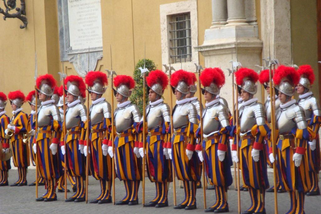 La Garde Suisse, au Vatican