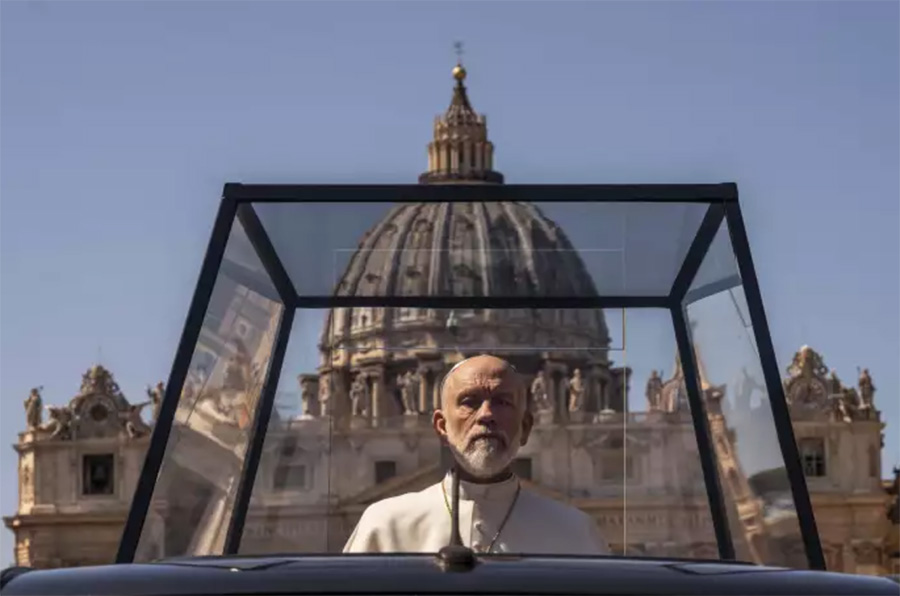 The New Pope John Malkovitch Jean-Paul III