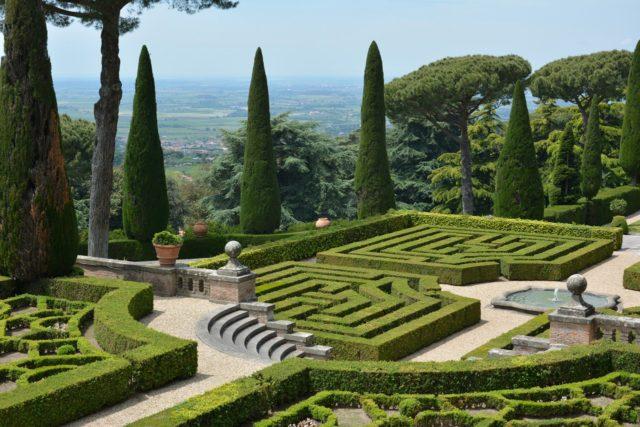 Jardins du pape - Castel Gandolfo